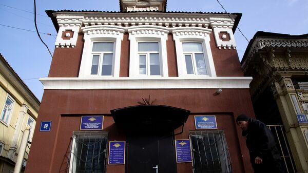 Здание отдела по вопросам миграции отдела МВД России по Уфимскому району
