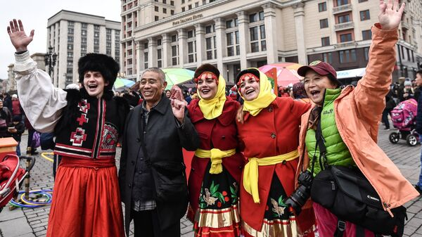 Фестиваль День народного единства. Архивное фото