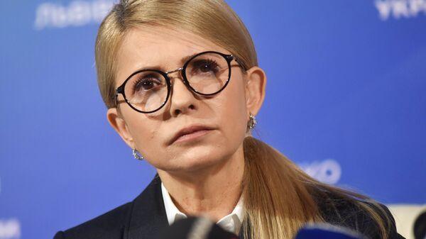 Юлия Тимошенко. Архивное фото