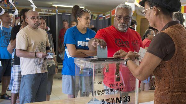 Проведение референдума о независимости Новой Каледонии