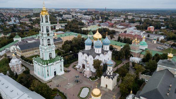 Троице-Сергиева лавра в городе Сергиев Посад Московской области