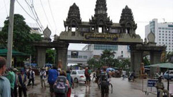 Граница Камбоджи и Таиланда