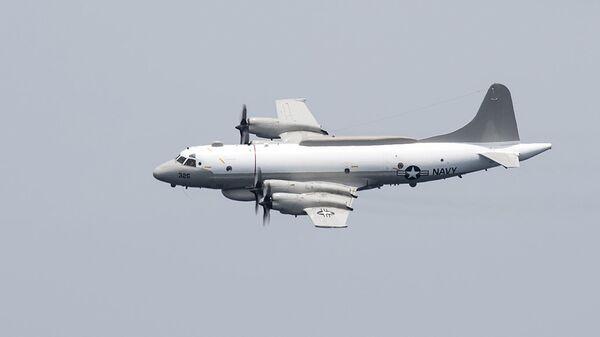 Американский самолет-разведчик EP-3E Aries