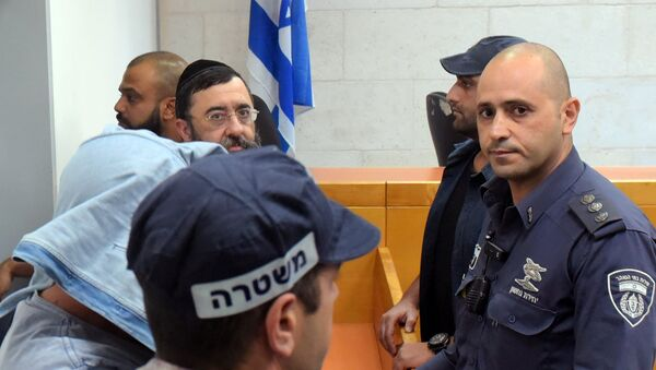 Брат израильского миллиардера Льва Леваева Моше в Магистратском суде Ришон-ле-Циона, Израиль. 5 ноября 2018