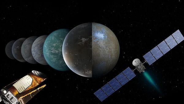 Телескоп Кеплер и зонд Dawn