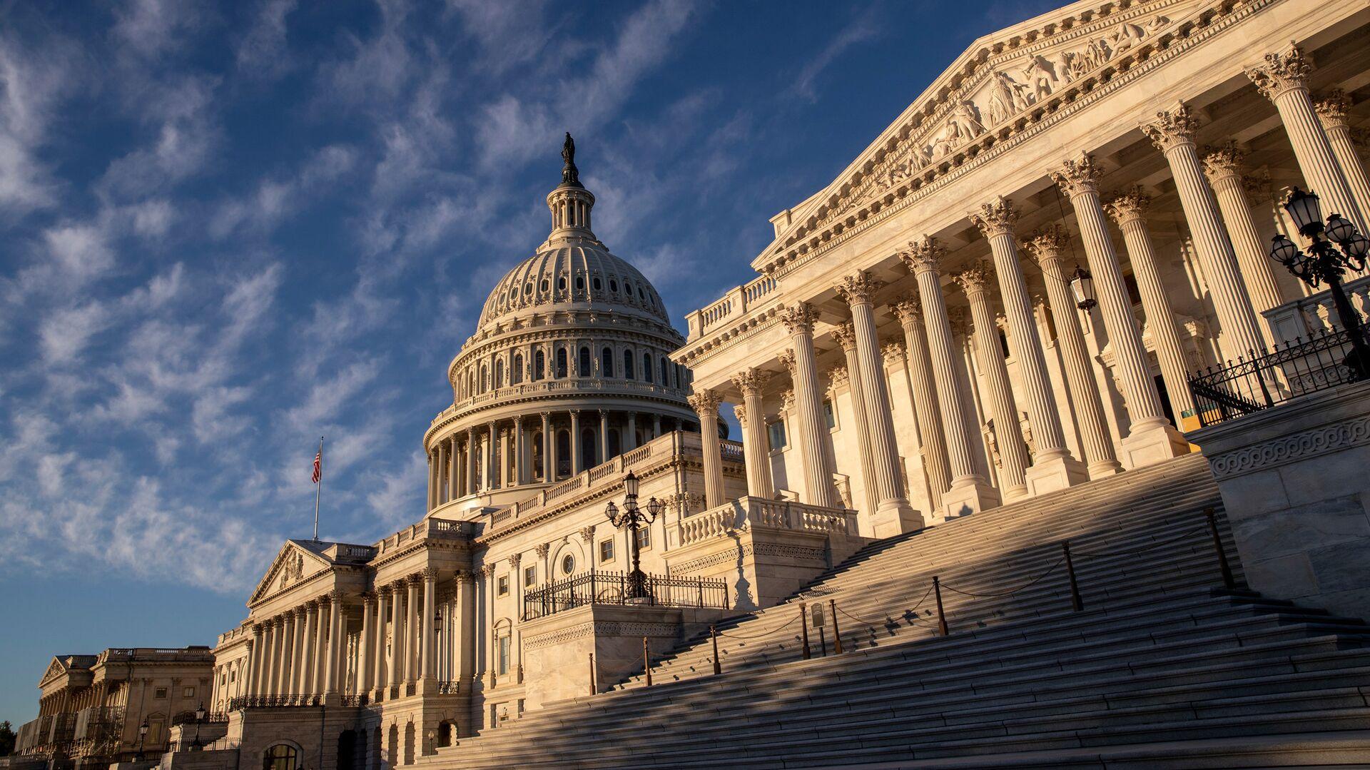 Здание Конгресса США в Вашингтоне - РИА Новости, 1920, 09.10.2020