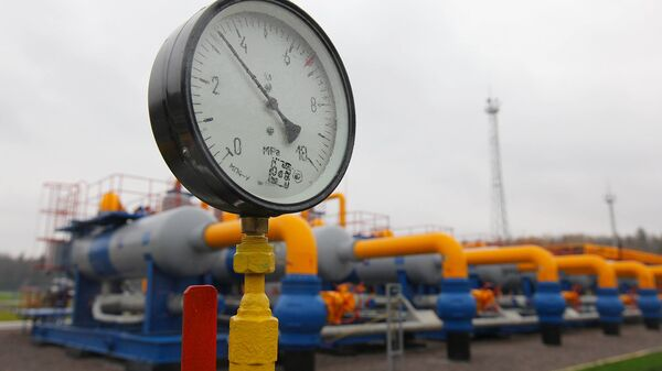Магистральный газопровод в Воскресенском районе Московской области. Архивное фото