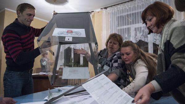 Выборы в Донецкой народной республике. Архивное фото