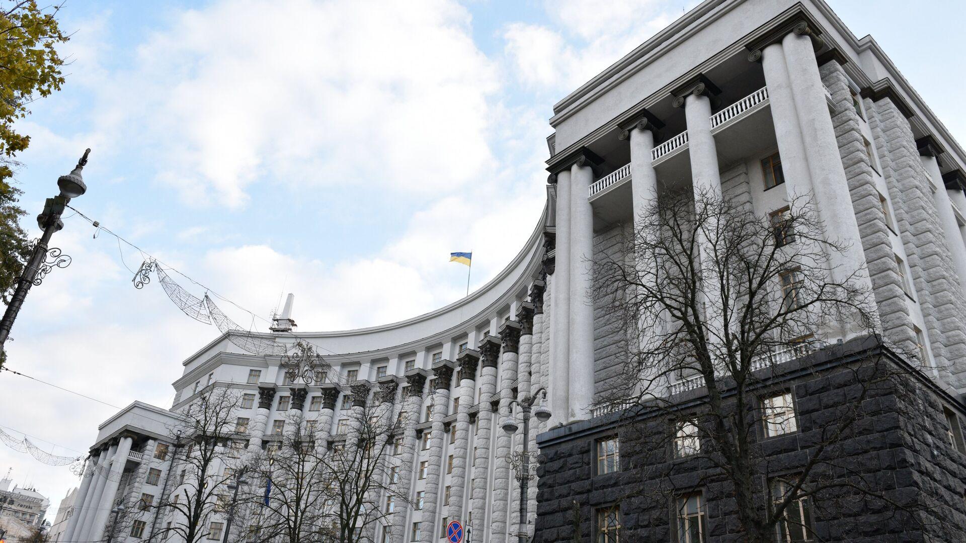 Здание правительства Украины в Киеве - РИА Новости, 1920, 04.08.2021