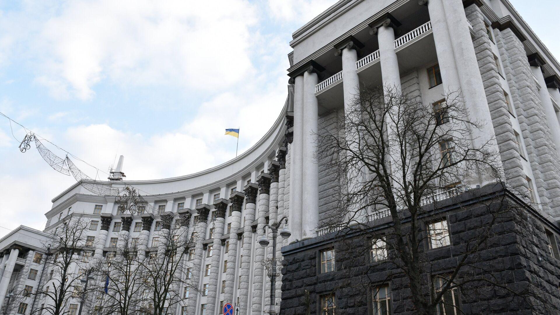Здание правительства Украины в Киеве - РИА Новости, 1920, 29.01.2021