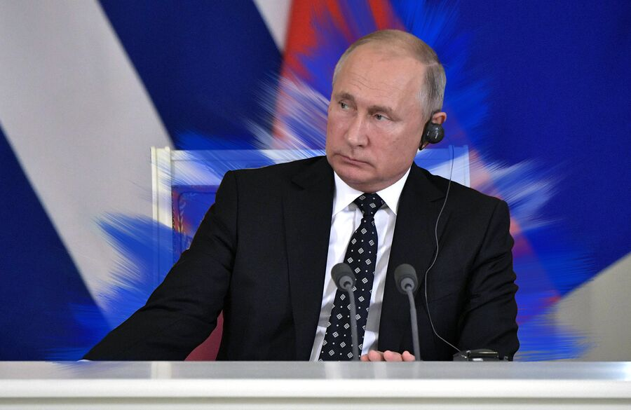 «Аура» Владимира Путина в восприятии синестета Елены А.