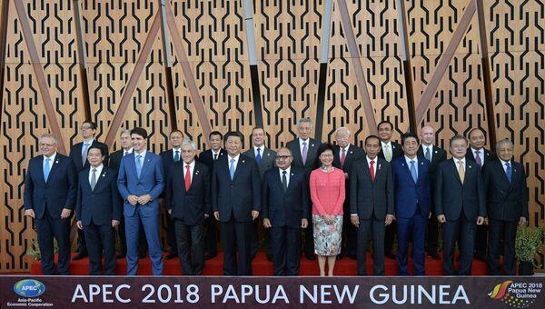 Премьер-министр РФ Д. Медведев на саммите АТЭС в Папуа – Новой Гвинее