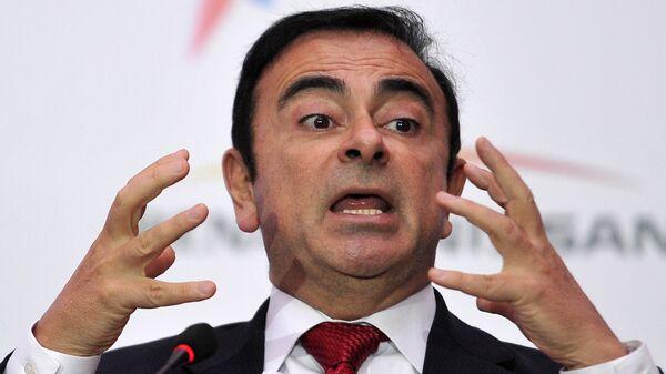 Экс-глава автоконцерна Nissan Карлос Гон