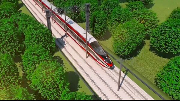 Концепт высокоскоростного поезда для России
