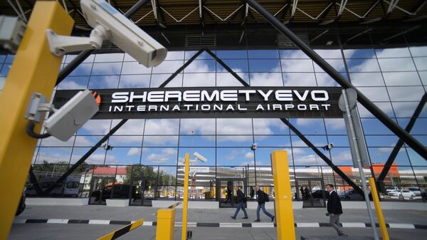Терминал B международного аэропорта Шереметьево. Архивное фото