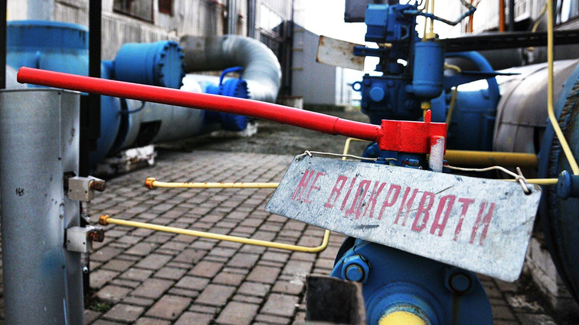 Газокомпрессорная станция в Закарпатской области Украины - РИА Новости, 1920, 23.07.2021