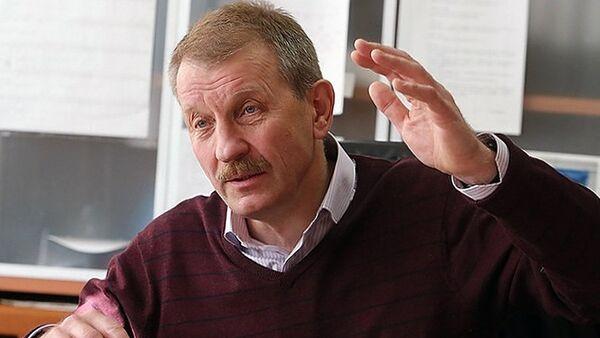 Генеральный директор — главный конструктор НПП Звезда Сергей Поздняков