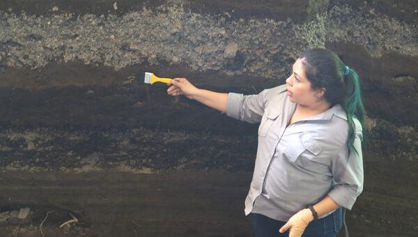 Археологи обнаружили человеческие останки в ходе раскопок в районе древнего поселения Хойя-де-Серен в Сальвадоре