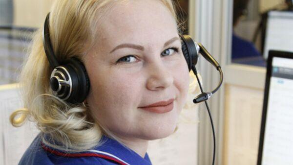 Оператор Службы экстренных вызовов – 112 Наталья Петряева