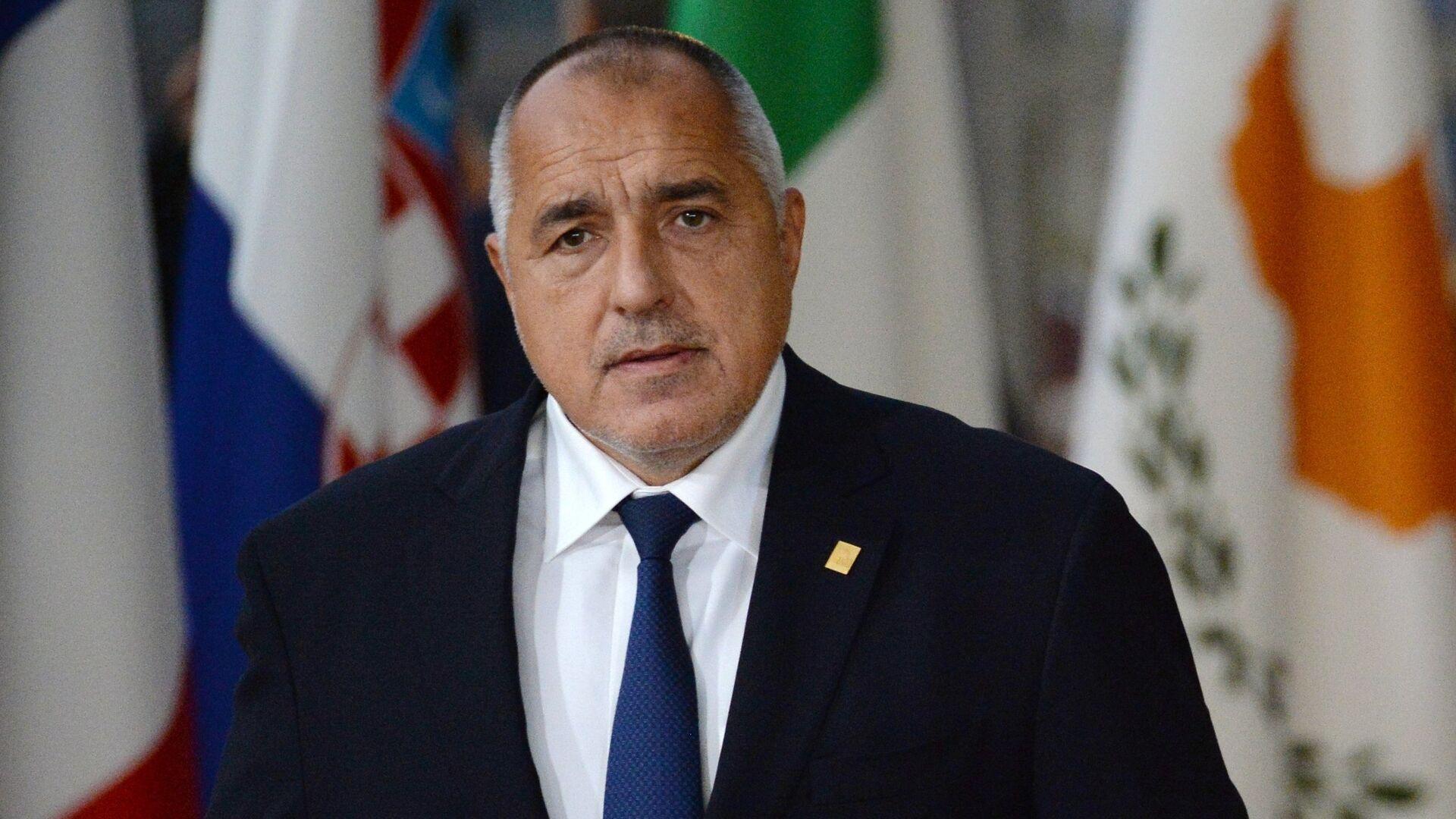Премьер-министр Болгарии Бойко Борисов на внеочередном саммите ЕС по брекзиту в Брюсселе. 25 ноября 2018 - РИА Новости, 1920, 20.03.2021
