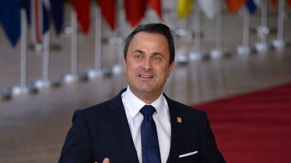 Премьер-министр Люксембурга Ксавье Беттель