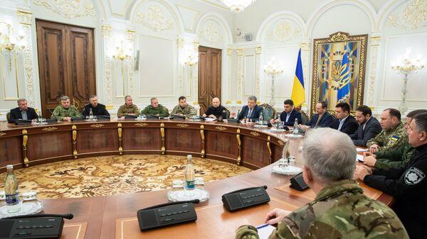 Заседание СНБО в Киеве