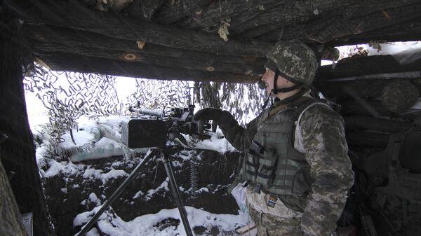 Военнослужащий ВСУ