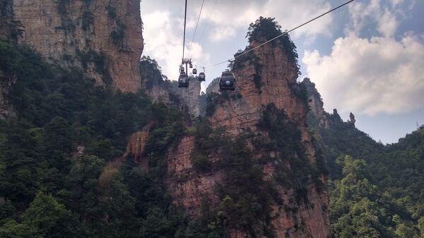 Канатная дорога в Китае