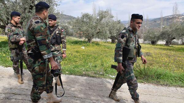 Ливанские военные. Архивное фото