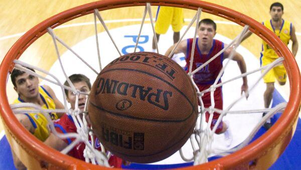 Российские баскетболисты обыграли хорватов в товарищеском матче
