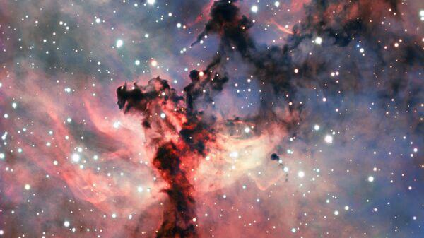 Туманность Розетка в созвездии Единорог