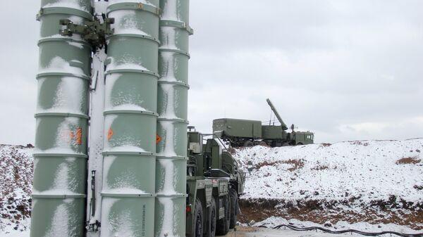 Дивизион С-400 Триумф в Крыму
