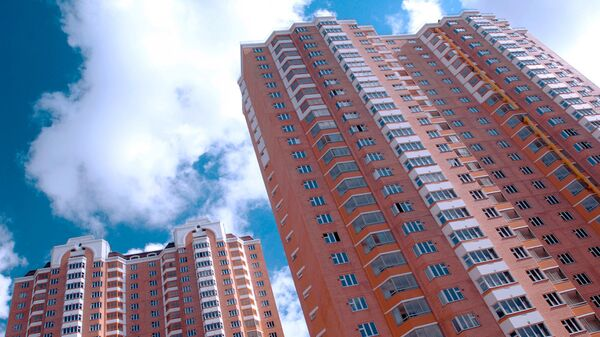 Строительство жилого микрорайона в Красногорском районе Московской области