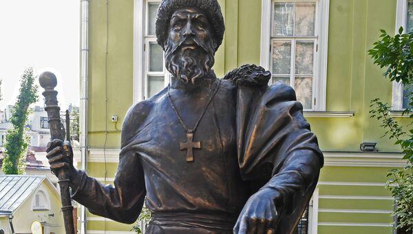 Памятник Великому князю Московскому и всея Руси Ивану IV установлен на Аллее правителей