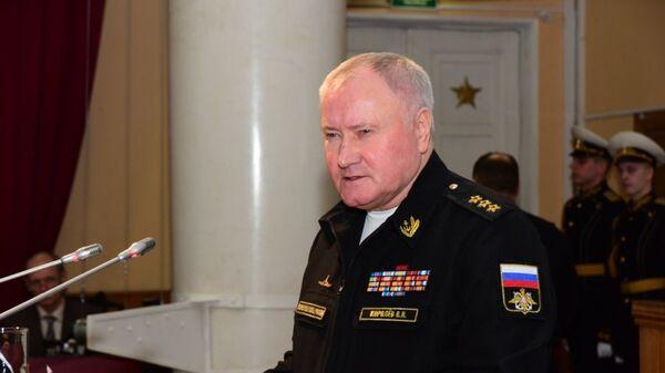 Главнокомандующий ВМФ РФ Владимир Королев