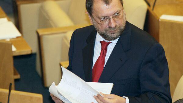 Депутат Госдумы Владислав Резник. Архивное фото