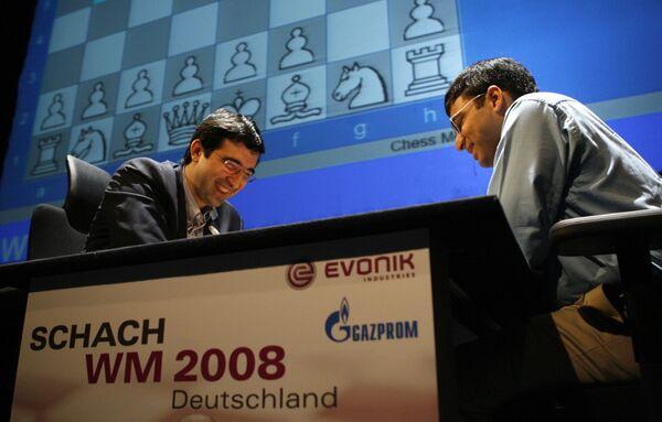 Матч за шахматную корону Крамник - Ананд