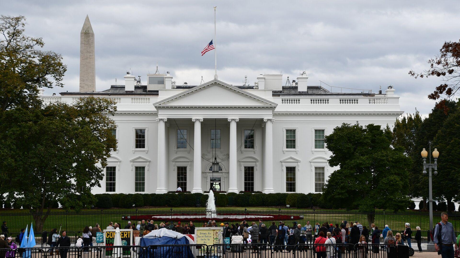 Белый дом в Вашингтоне, официальная резиденция президента США - РИА Новости, 1920, 23.11.2020