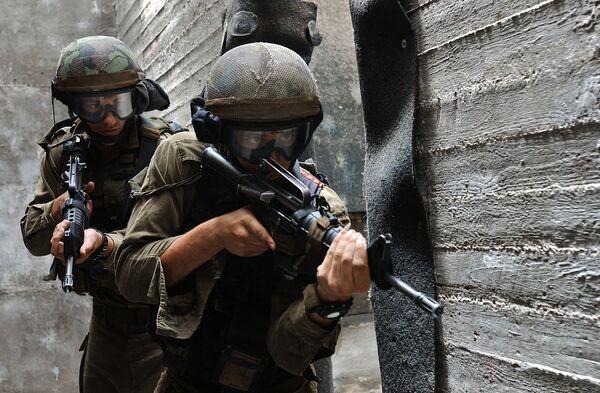 Действия спецподразделений вооруженных сил