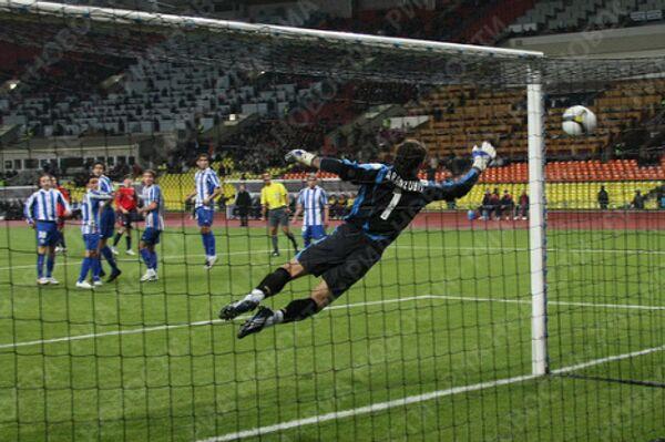 Первый гол в ворота Депортиво