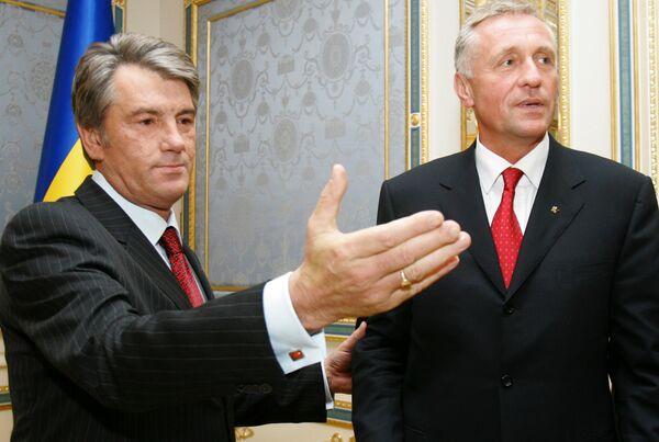 Премьер-министр Чешской Республики Мирек Тополанек. Архив