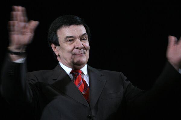 Известный певец Муслим Магомаев