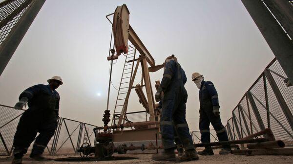 Добыча нефти в Бахрейне. Архивное фото