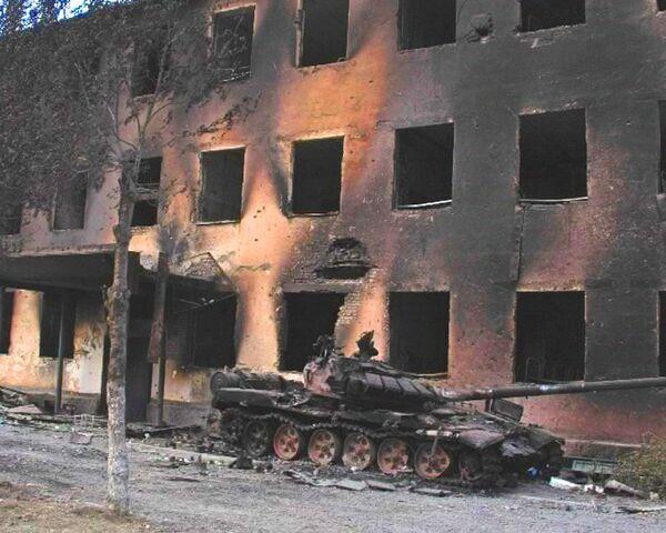 Последствия грузинской агрессии в августе 2008 года