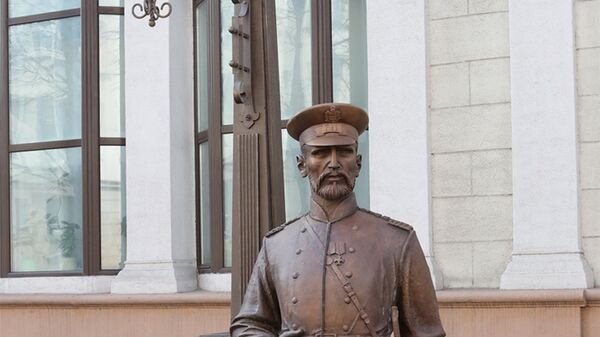 Скульптура Минский городовой