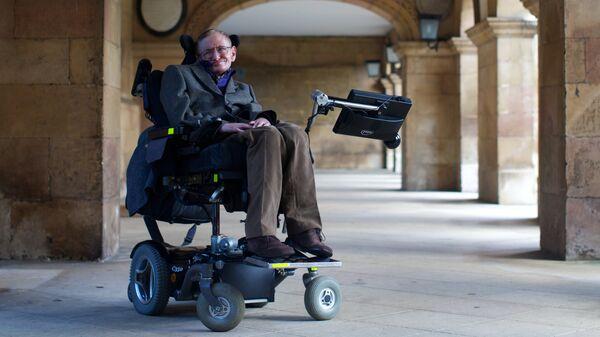 Британский физик Стивен Хокинг