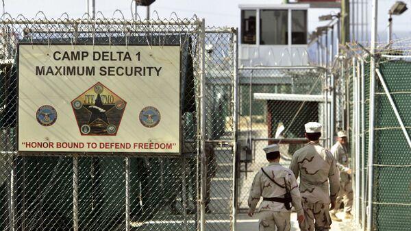 Тюрьма в Гуантанамо на территории военно-морской базы на Кубе