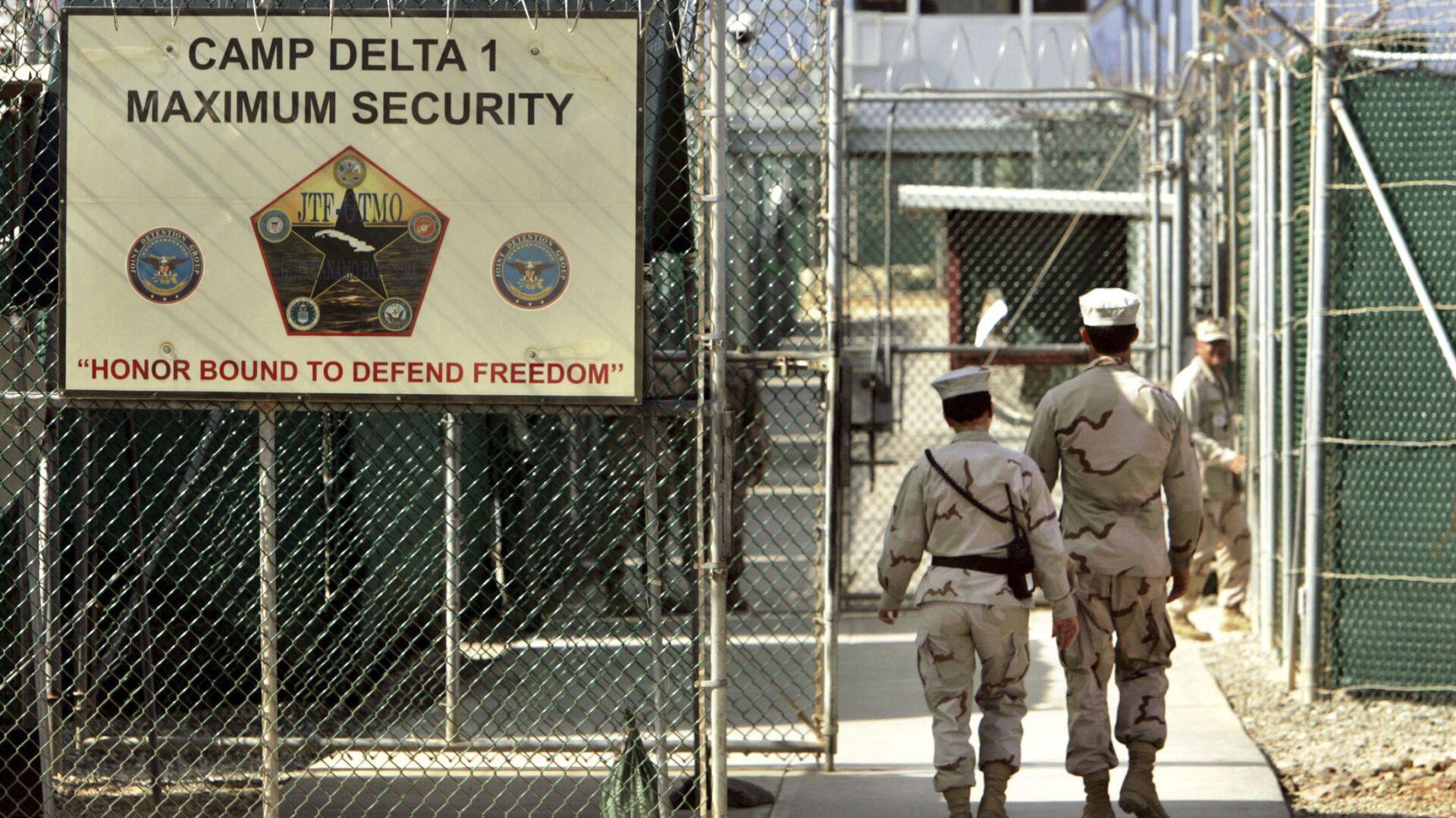Тюрьма в Гуантанамо на территории военно-морской базы на Кубе - РИА Новости, 1920, 13.02.2021