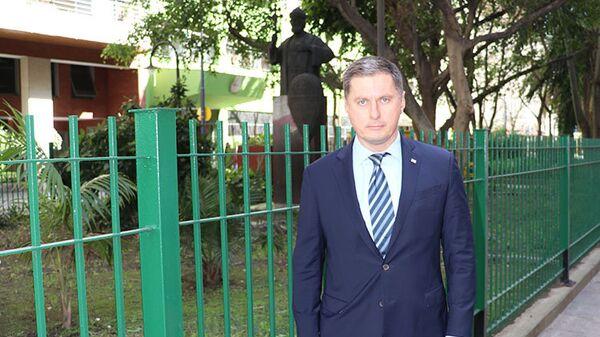Посол России в Буэнос-Айресе Дмитрий Феоктистов