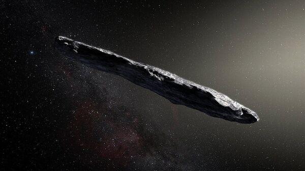 Межзвездный астероид Оумуамуа